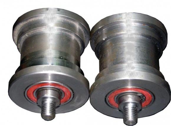 Дополнительный набор проточки 30-50 Позволяет прокатывать дуги из профилированных труб с размерами 30х30 или 50х25, также работать с трубой 25х25.